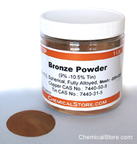 Bronze Powder, Filter Grade 25