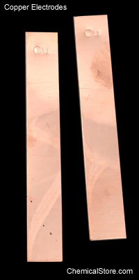 Copper  Electrodes, Flat