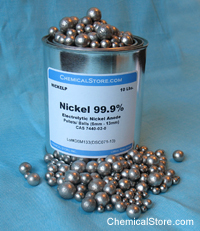 Nickel Pellets, Electrolytic Grade