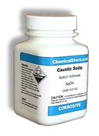 Sodium Hydroxide, Pellets, 95% (Caustic Soda)