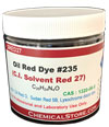 Solvent Red 27, Sudan Red 5B, Sudan Oil Red O