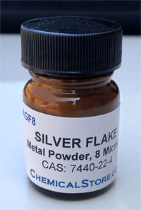 Silver Powder, Fine flake >99%