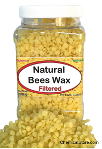 Natural Beeswax Filtered Granular