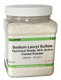 Sodium Lauryl Sulfate, Powder