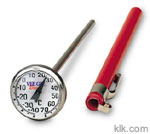 Dial Thermometer (Celsius -40° to 70°)